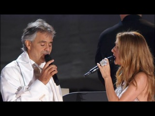 Celine Dion & Andrea Bocelli The Prayer HD